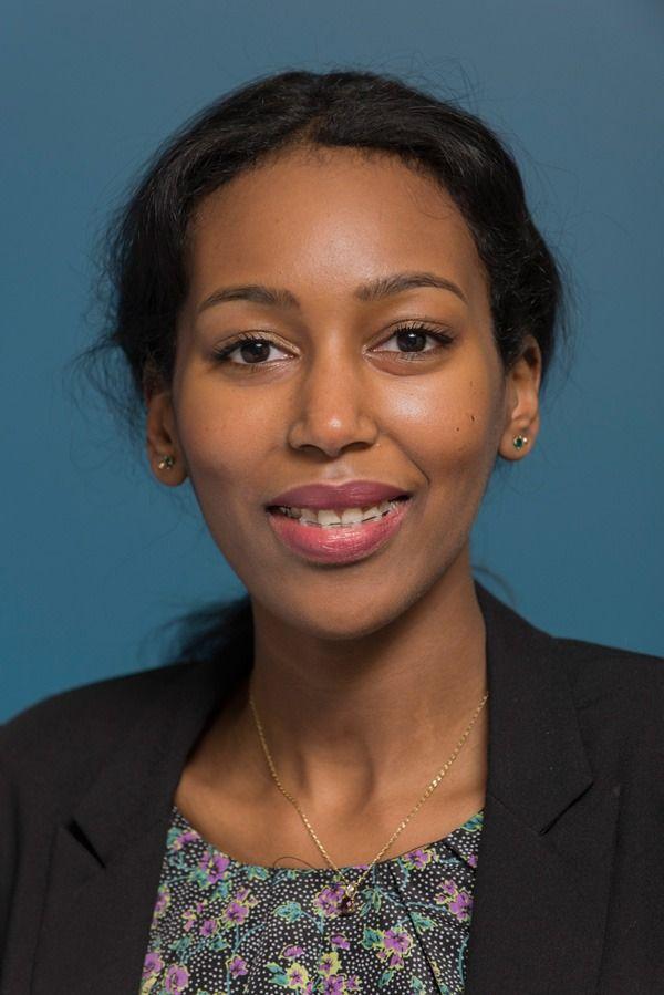 Radiographer Fatuma Osman